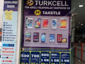 Turkcell kampanyaları cam giydirme örnekleri