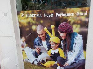 Turkcell mağaza içi giydirme örnekleri