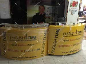 stand-reklam-banko-giydirme-english-time