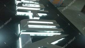 Işıklı Krom Harf Tabela