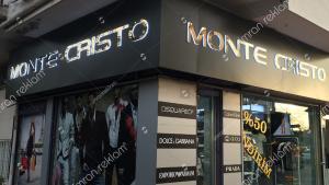 Monte Cristo Kutu Harfli Tabela