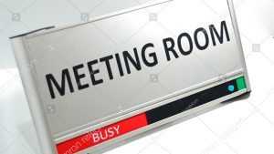 Meeting Room Nameplate