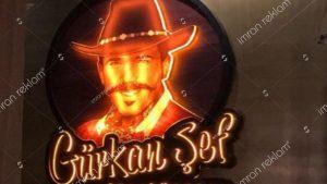 Gürkan Şef Steakhouse Tabela
