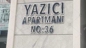 Apartman Tabelası