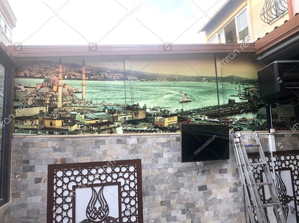 İstanbul-görseli-cama-üzeri-folyo-uygulama