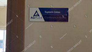 Toplantı odası kapı isimlik örnekleri
