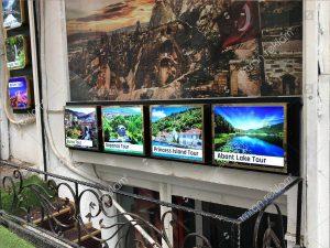 Travel agency tour tabelası