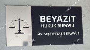 Hukuk bürosu tabelası örnekleri