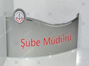 Şube-Müdürü-Kapı-İsimliği