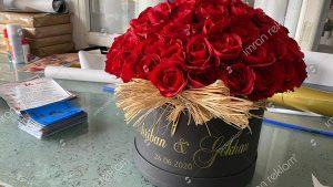 Çiçek Kutusu Yazı Kaplama