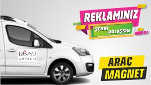 Mıknatıslı Folyo Araba Logosu