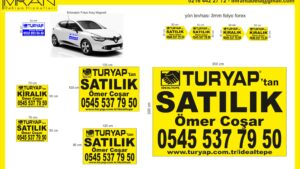 Turyap Kadıköy E- 5 Afiş