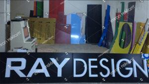 Ray Design Kutu Harf Tabela
