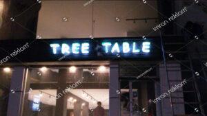Tree Table Kutu Harf Tabela