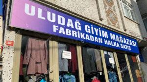 Giyim Mağazası Tabelası