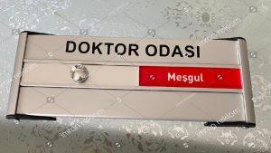 Doktor Odası Tabelası