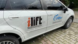 Fiat Linea Kısmi Araç Logo Kaplama