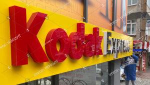 Kodak Express Fotoğrafçı Tabelası