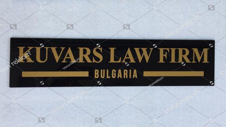 Law Firm Office Tabelası