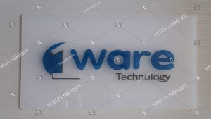Ware Technology Pleksi Glass Kapı Tabelası