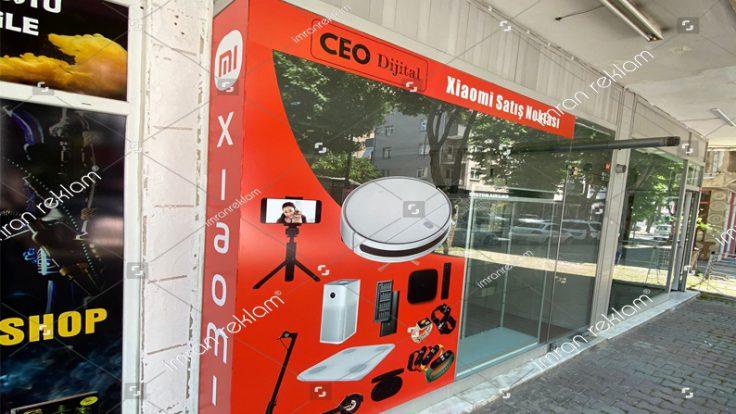 Xiaomi Cam Üzeri Reklam Kaplama