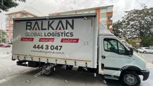 Logistics taşımacılık kamyonet kasası kaplama