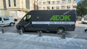 Mobil Sağlık aracı reklam kaplama