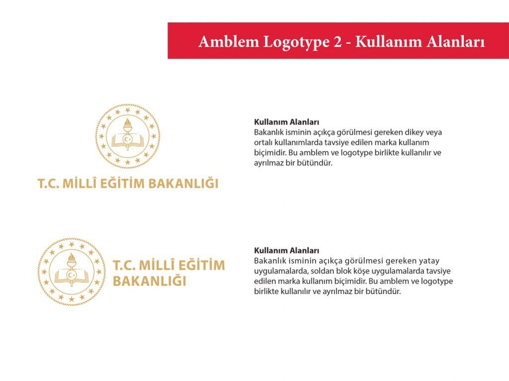 Amblem Logotype2 Kullanım alanları örnekleri