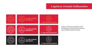 Logoların zeminle kullanım örnekleri