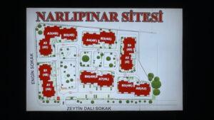 Site Harita Planı Tabelası